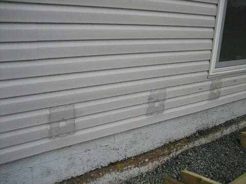 Siding Saver on House