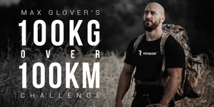 Max Glover's 100kg Over 100km Challenge