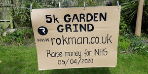 Rokman's 5K Garden Running Challenge Raises over £1,900 for NHS