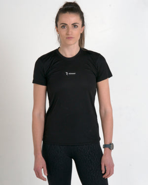 Rokman Ident Active-Dry Tactical Black Female T-Shirt