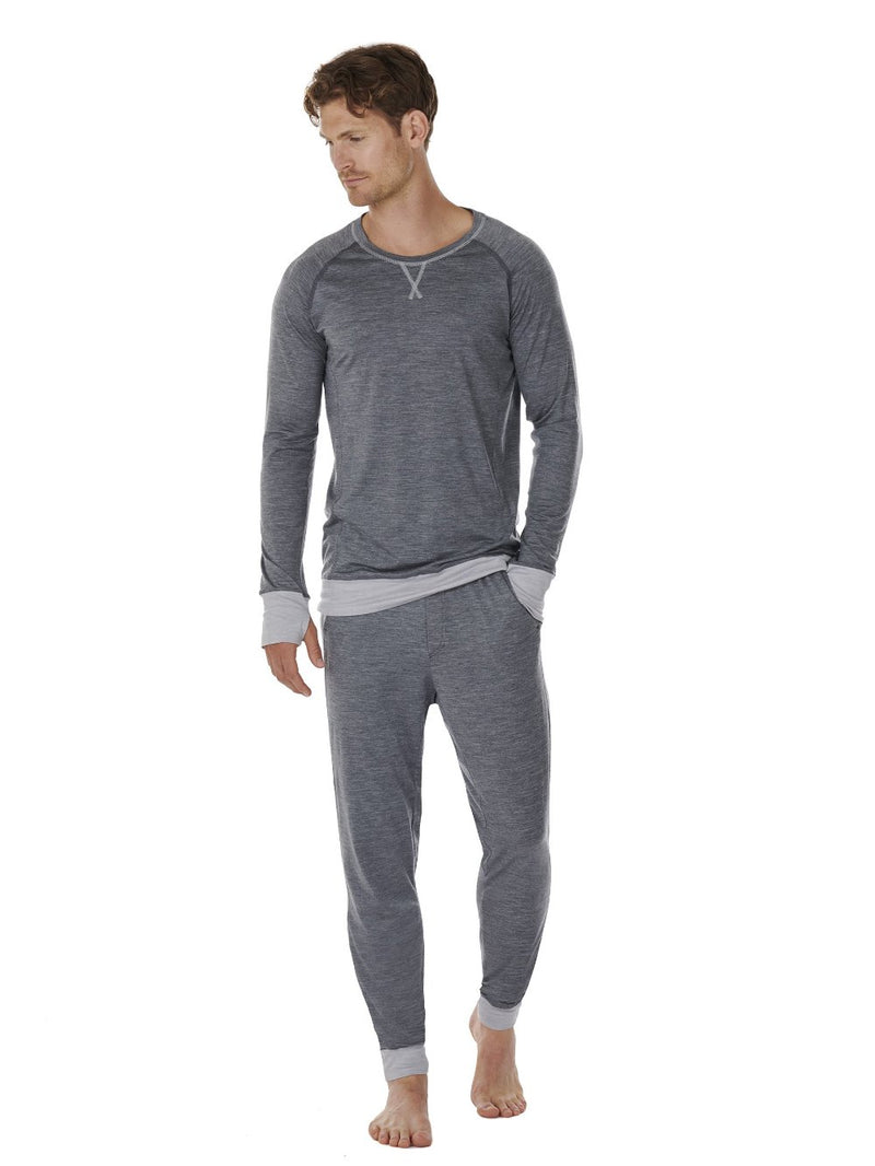 LONG-SLEEVE MEN DAGSMEJAN DARK GREY FRONT FULL
