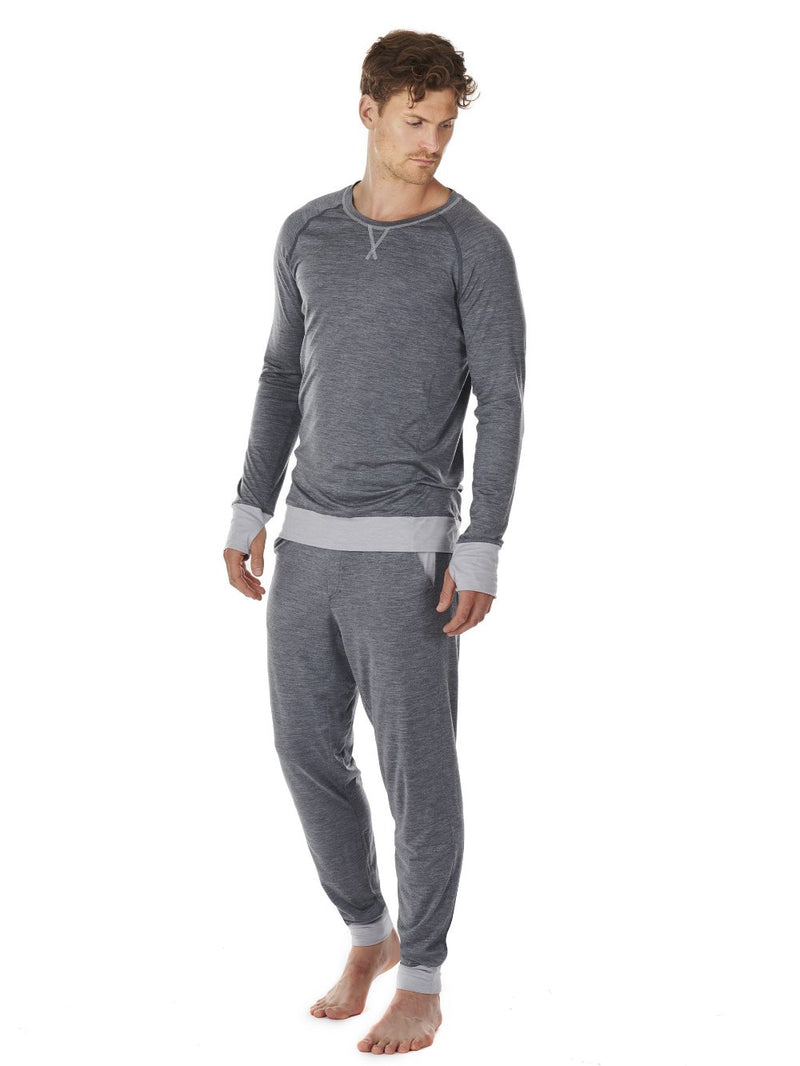 LONG-SLEEVE MEN DAGSMEJAN DARK GREY SIDE