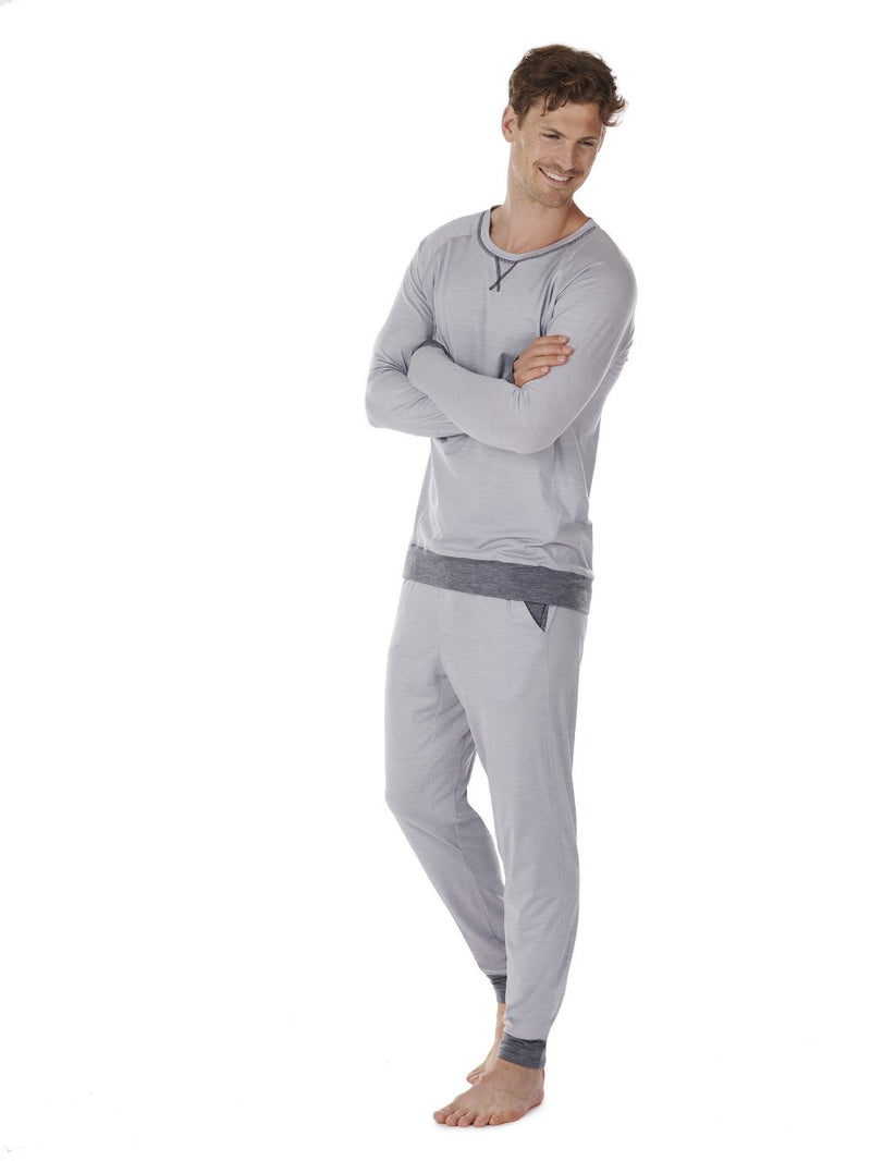 LONG-SLEEVE MEN DAGSMEJAN LIGHT GREY SIDE