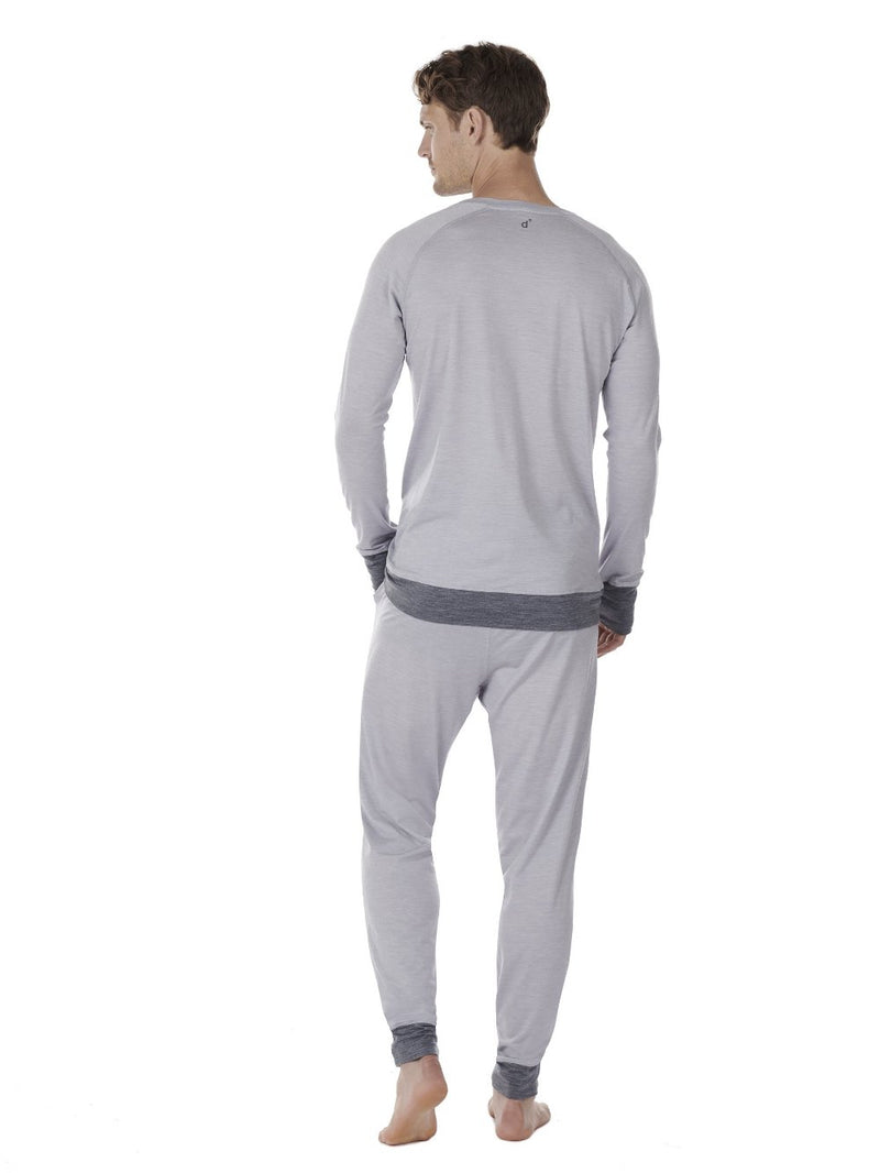 LONG-SLEEVE MEN DAGSMEJAN LIGHT GREY BACK