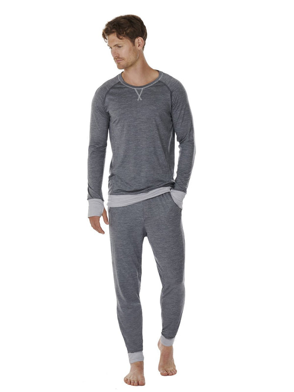 PANTS MEN DAGSMEJAN DARK GREY FRONT