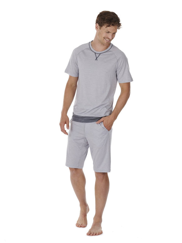 SHORTS MEN DAGSMEJAN LIGHT GREY FRONT