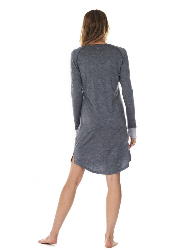 SLEEPDRESS DARK GREY DAGSMEJAN BACK