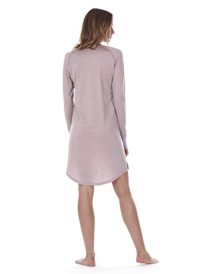 SLEEPDRESS DUSTY PINK DAGSMEJAN BACK