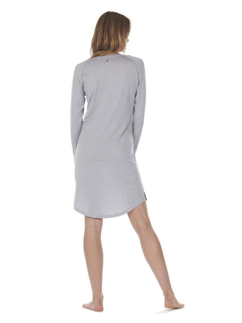 SLEEPDRESS LIGHT GREY DAGSMEJAN BACK