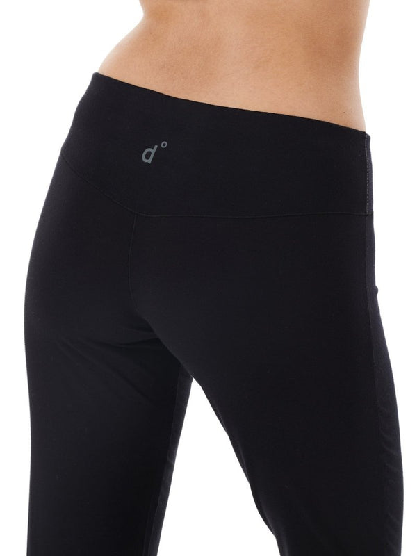 PANTS WOMEN BLACK CLOSE-UP