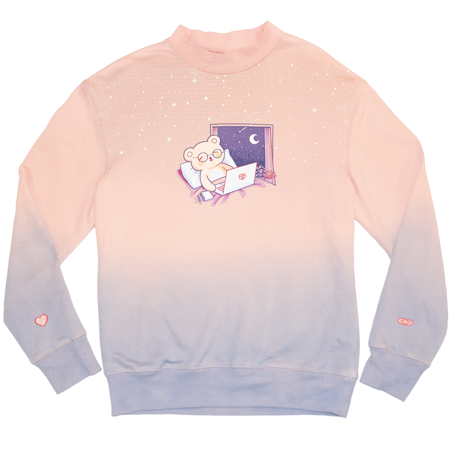 teddy sweater product shot