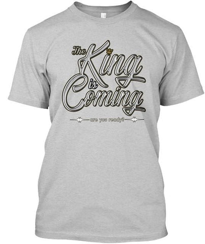 The King Is Coming - Men's Tee