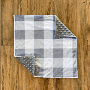 Gray Checkered Lovey
