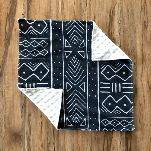 Charcoal Mudcloth Lovey
