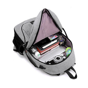 Canvas USB Backpack