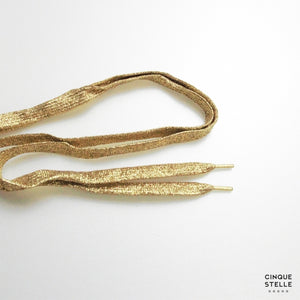 Men's Shoelace Gold