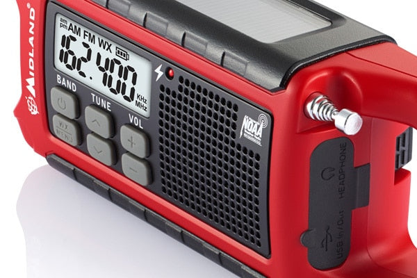 Midland ER210 Emergency Multi-Power Radio