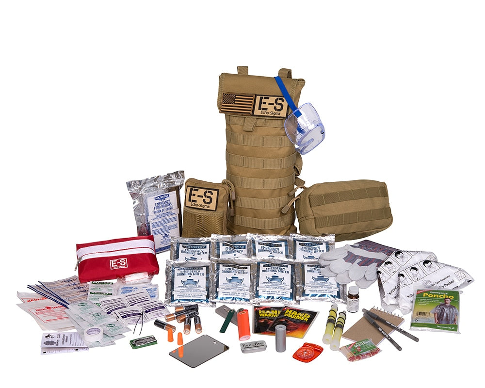 Echo-Sigma Runner 24 Hour Emergency Fire and Earthquake Kit
