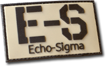 Echo-Sigma PVC Patch