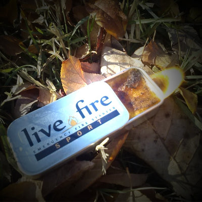 Live Fire Sport Emergency Fire Starter