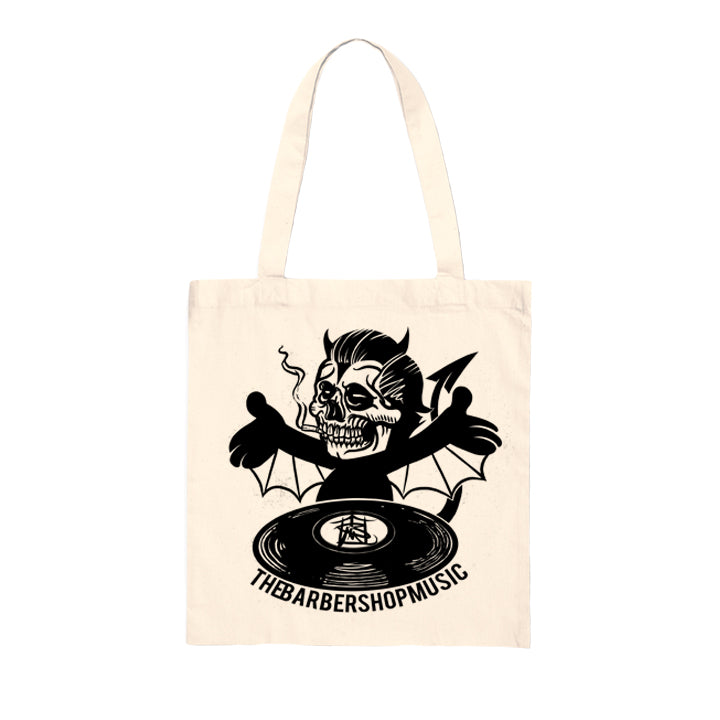Barbershop Music Tote Bag