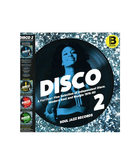 Various Artists - Disco 2: A Further Fine Selection Of Independent Disco, Modern Soul And Boogie 1976-80 Record B [2LP]