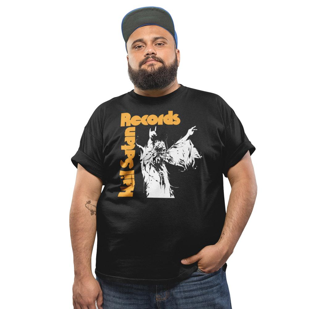 Hail Satan Records - Vol.4 T-Shirt, Black