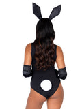 Leg Avenue 3 Piece Tuxedo Bunny Accessory Kit With Glitter Ears