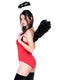 Leg Avenue 2-Piece Feather Angel Wings & Halo Accessory Kit