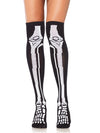 Leg Avenue Acrylic Skeleton Over the Knee Socks