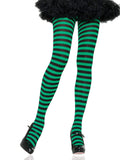 Leg Avenue Nylon Striped Costume Tights