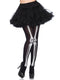 Leg Avenue Skeleton Print Bone Halloween Tights