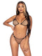 Leg Avenue Industrial Net Bikini Set