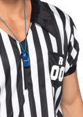 Leg Avenue 2-Piece Mens Sports Referee Halloween Costume