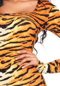 Leg Avenue 2-Piece Wild Tigress Catsuit Costume Set