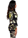 Leg Avenue 2-Piece Pretty Paratrooper Camo Jumpsuit Costume