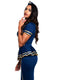 Leg Avenue 3-Piece Friendly Skies Flight Attendant Costume Set
