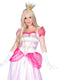 Leg Avenue 2-Piece Classic Pink Princess Dress Costume Set