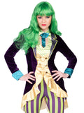 Leg Avenue 2-Piece Wicked Trickster Comic Villain Costume