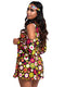 Leg Avenue 2-Piece Starflower Hippie Fringe Dress Costume Set