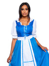 Leg Avenue 2-Piece Village Beauty Tea Length Princess Costume