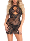 Spoil Me Rhinestone Dress and Panty Set