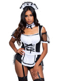Leg Avenue 3-Piece Merry Maid Costume Set With Headband