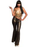 Leg Avenue 2-Piece Gold Disco Diva Costume Set