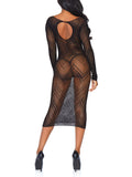 Fishnet Bodycon Dress