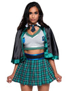Leg Avenue 3-Piece Sinister Spellcaster School Girl Costume Set