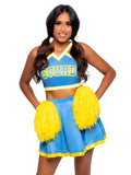 Leg Avenue 3-Piece Cheer Squad Cutie Cheerleader Costume Set