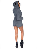 Leg Avenue Cuddle Koala Ultra Soft Romper With Hood Costume