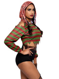 Leg Avenue 4-Piece Dream Killer Slasher Horror Costume Set