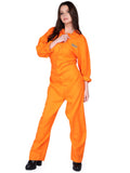Leg Avenue Orange Prison Jumpsuit for Women